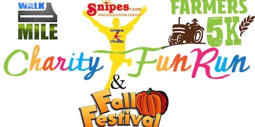 The children's charity fun run and fall festival.
