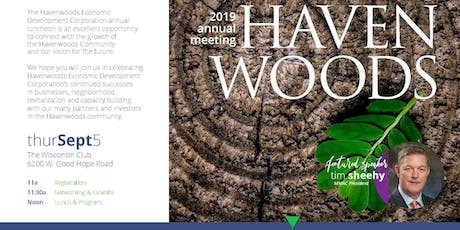 Havenwoods Annual Luncheon tickets