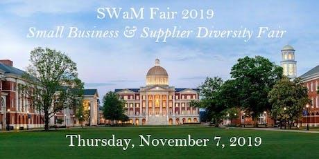 SWaM Fair 2019: Small Business & Supplier Diversity Fair tickets
