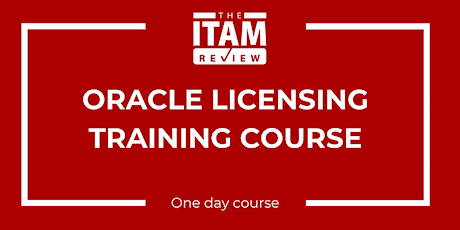 2020 US Oracle Licensing Training Course tickets
