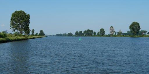 Natuurtoezicht vanaf het water (Pompstation Bergsche Maas/Biesbosch) | OMWB on Tour
