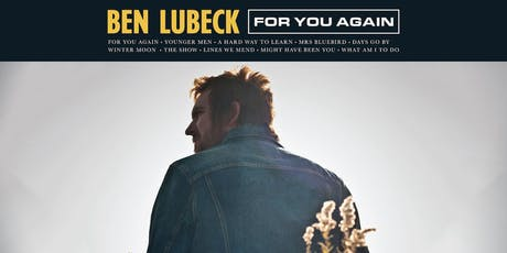 "Ben Lubeck ""For You Again"" Album Release tickets"