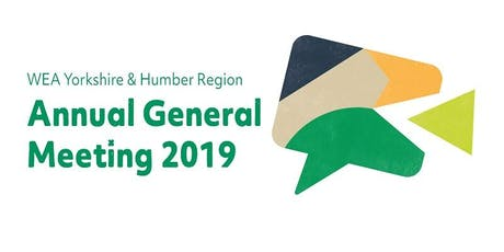 WEA Yorkshire & Humber Region AGM and Showcase Event 2019 tickets