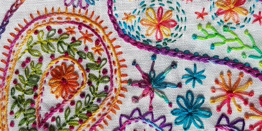 Free Style Embroidery Workshop