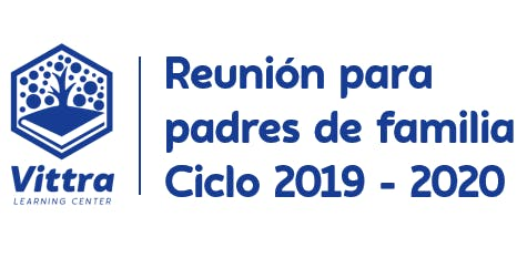 Reunión para padres Ciclo 2019 - 2020