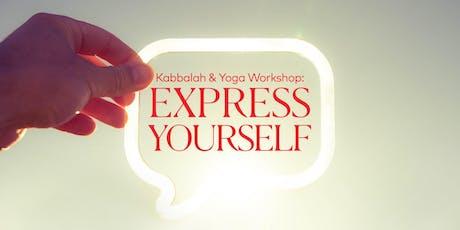 Kabbalah & Yoga: Express Yourself (EN) tickets