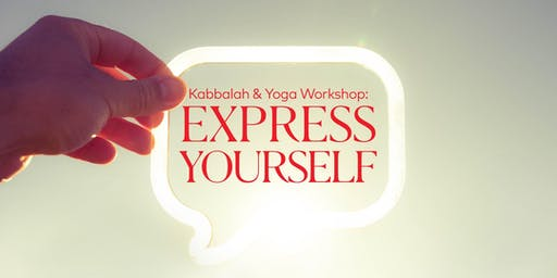 Kabbalah & Yoga: Express Yourself (EN)