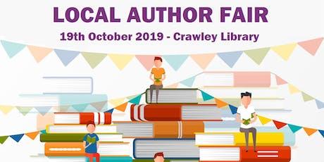 Local Author Fair: Author Registration tickets