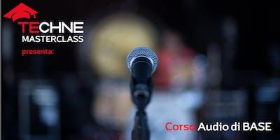 Corso Audio Base