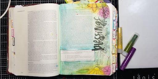 September Bible Journal Workshop - Saturday Morning