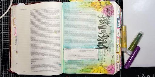 Sept Bible Journal Workshop - Thursday Evening