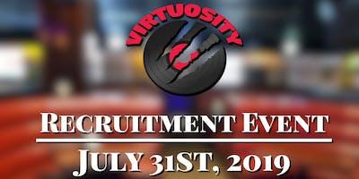 Virtuosity: New Wave Billiards Recruitment Event