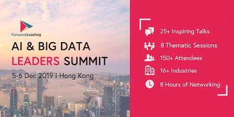 AI & Big Data Leaders Summit Hong Kong 2019 tickets