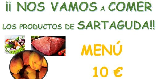 Comida popular feria del melocotón Sartaguda