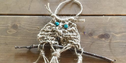 Macrame - Summer activities for kids at Art & Soul