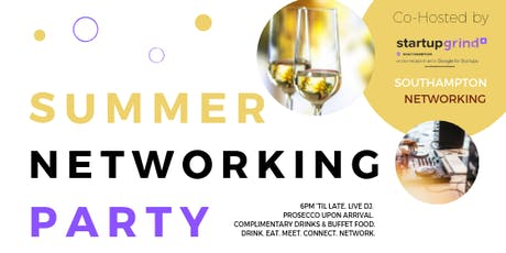 Southampton Summer Networking Party tickets