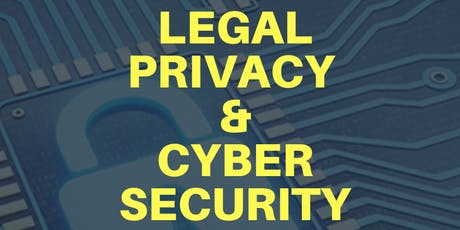 Legal Privacy & Cyber Security tickets