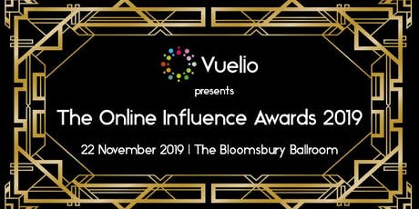 The Online Influence Awards 2019 tickets