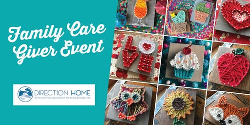 String Art: Family Care Giver Event