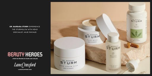 Instant Sturm Glow Facial by Head Specialist of Dr. Barbara Sturm