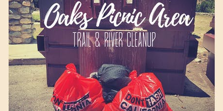 August 25th Oaks Picnic Area Trail and River Cleanup tickets
