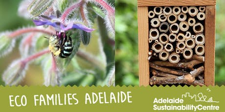 Eco Families Adelaide: Native Bees tickets