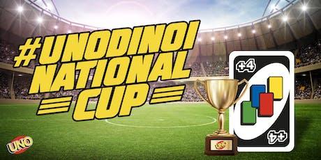 #UNODINOI NATIONAL CUP VENERDÌ 27 SETTEMBRE biglietti