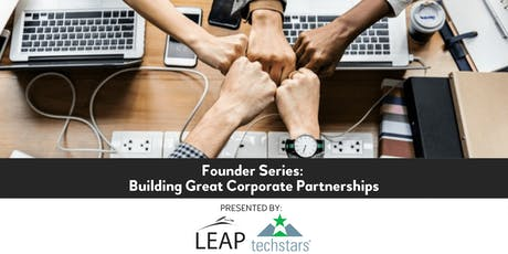 Founder Series: Building Great Corporate Partnerships Workshop w/ Dave Drach tickets