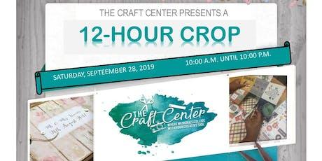 The Craft Center Crop tickets