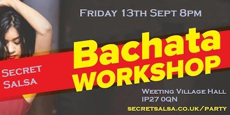 Bachata Dance Workshop tickets