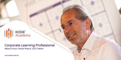 Corporate Learning Professional (Zertifikatskurs), Berlin, 14.09. - 12.10.2020 tickets