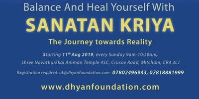 Sanatan Kriya Yoga - The journey towards Reality