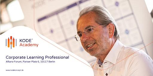 Corporate Learning Professional (Zertifikatskurs), Berlin, 16.11. - 14.12.2020