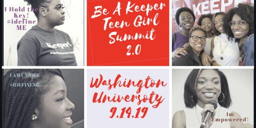 Be a Keeper! Teen Girl Summit 2.0