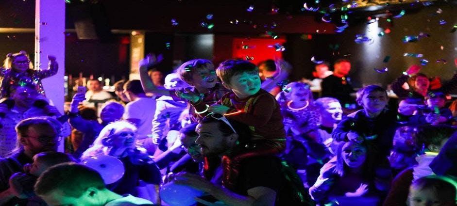 Big Fish Little Fish Family Rave Hard House Special Leeds - DJ Rob Tissera