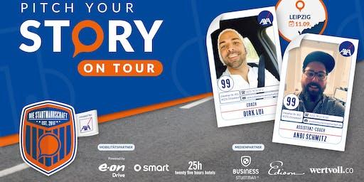Pitch your Story On Tour - Corporate meets StartUp - Überzeug´ uns von Deiner Idee in LEIPZIG