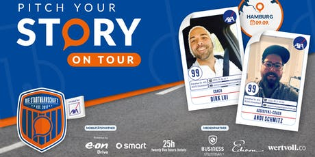 Pitch your Story On Tour - Corporate meets StartUp - Überzeug´ uns von Deiner Idee  in HAMBURG Tickets