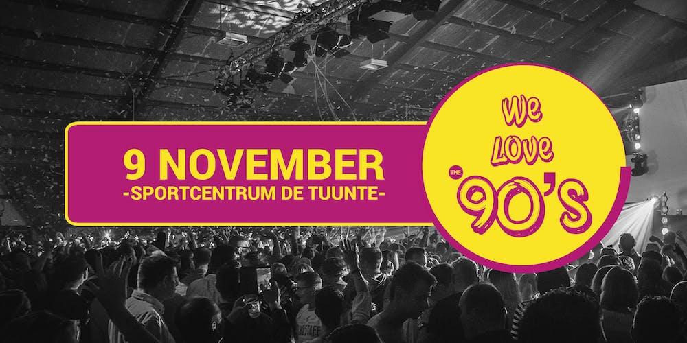 We Love The 90s Tickets Zat 9 Nov 2019 Om 2000 Eventbrite
