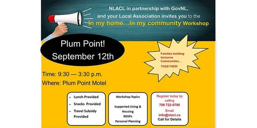 """""""In My Home...In My Community""""  PLUM POINT"""