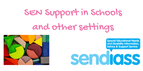 Ipswich SEN Support in Schools Workshop tickets