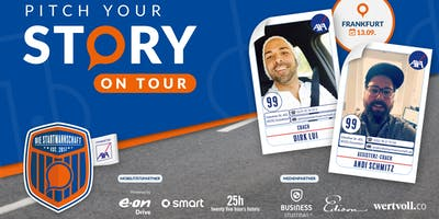 Pitch your Story On Tour - Corporate meets StartUp - Pitch in der New Mobility World auf der IAA in FRANKFURT AM MAIN