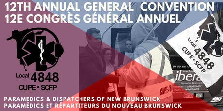 CUPE 4848 12th AGC / SCFP 4848 12e CGA tickets