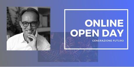 ONLINE OPEN DAY - LABORATORIO DI PASSAGGIO GENERAZIONALE biglietti