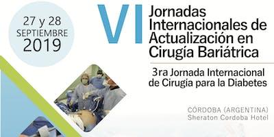 VI Jornadas Internacionales de Actualización en Cirugía Bariátrica