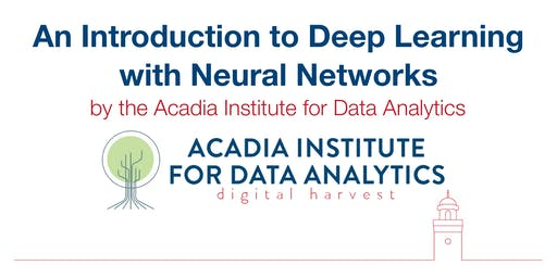 Introduction to Deep Learning with Neural Networks