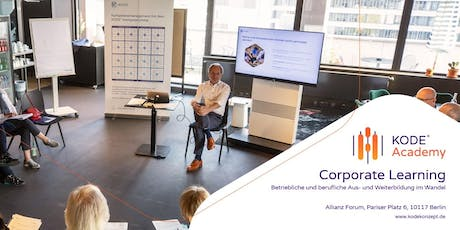 Corporate Learning - Tagesworkshop, Berlin, 08.11.2019 tickets