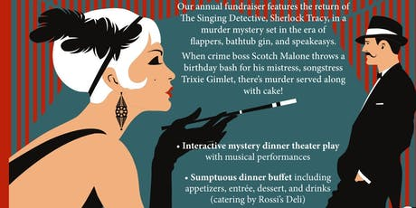 Roaring 20's Murder Mystery Dinner with Music tickets