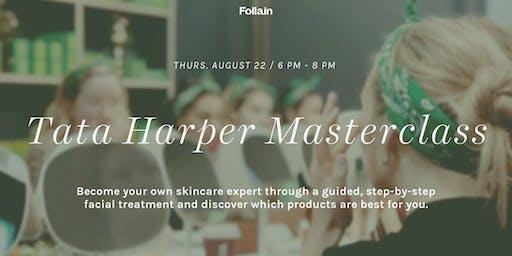 Tata Harper Masterclass at Follain Bethesda Row