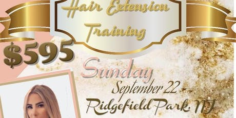 GET CERTIFIED IN HAIR EXTENSIONS tickets