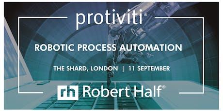 Robotic Process Automation tickets